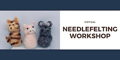Virtual November Needlefelting Workshop tickets
