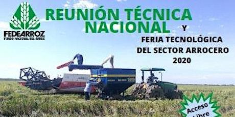 Feria Tecnológica del Sector Arrocero 2020 boletos