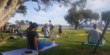 Morning Flow Yoga (by the River) tickets
