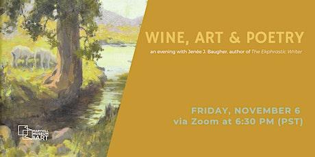 Wine, Art & Poetry: An Evening With Jenée J. Baugher tickets