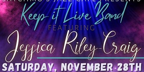 Keep it Live Band feat. Jessica Riley-Craig tickets