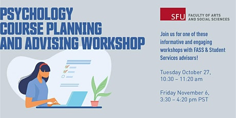 Psychology course planning and advising workshop tickets