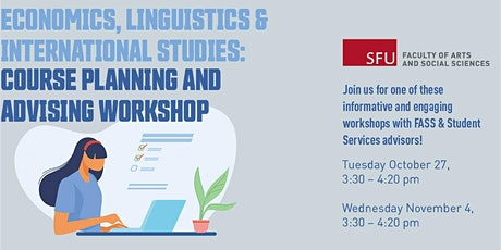 Economics, Linguistics & International Studies course planning and advising tickets