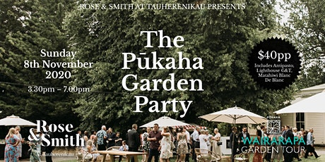 The Pūkaha Garden Party tickets