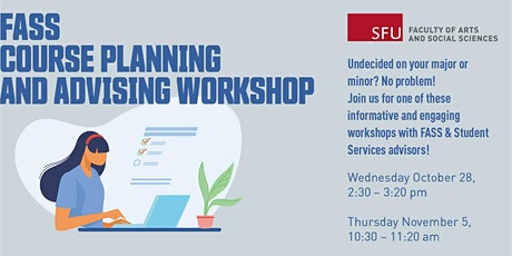 FASS course planning and advising workshop tickets