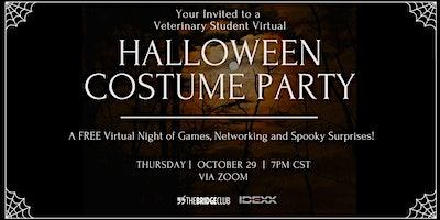 Halloween Virtual Costume Party for Veterinary Students