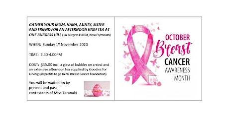 Breast Cancer Foundation High Tea Fundraiser