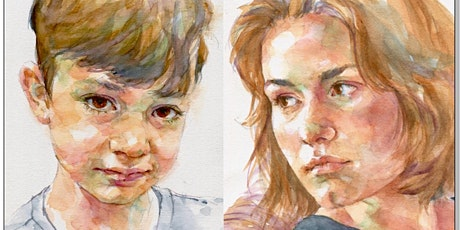 Feb 2, 3  - Quick Sketch Watercolor Portraits - 2 Day Online Workshop tickets