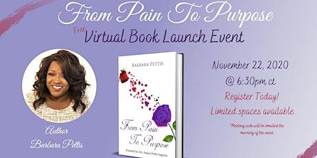Virtual Book Launch Event For Barbara Pettis tickets
