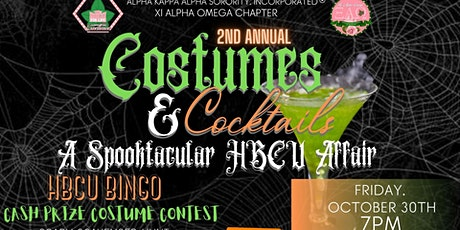 2nd Annual Costumes & Cocktails: A Spooktacular HBCU Affair tickets