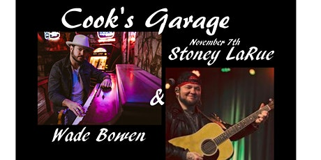 Wade Bowen and Stoney LaRue tickets