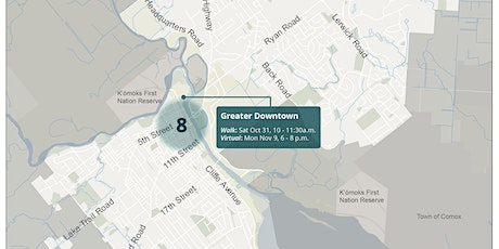 8B. Courtenay Greater Downtown Virtual Workshop tickets
