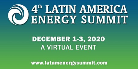 4th Latin America Energy Summit 2020 - Chile tickets