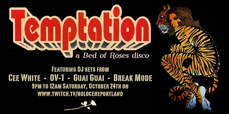 Temptation: A Bed of Roses Disco (Livestream) Tickets