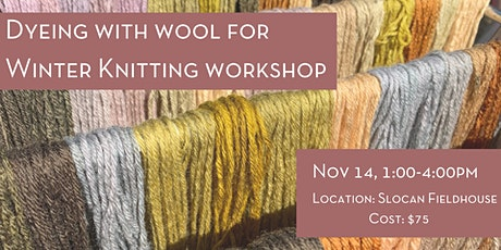 Dyeing With Wool For Knitting tickets