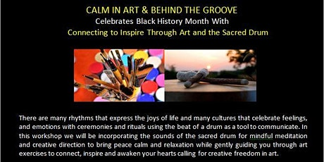 Connecting to Inspire Through Art and the Sacred Drum tickets
