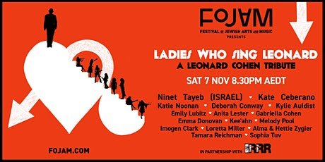 Ladies Who Sing Leonard Presented by FOJAM, in partnership with 3RRR tickets
