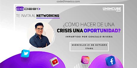 Webinar: ¿Cómo hacer de una crisis una oportunidad? entradas