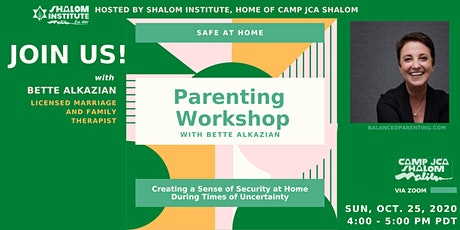 Parenting Workshop with Bette Alkazian tickets