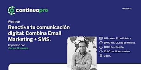Reactiva tu Comunicación Digital: Combina Email Marketing + SMS entradas