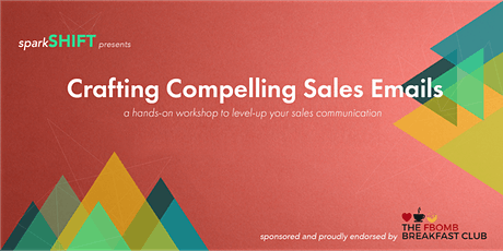 Crafting Compelling Sales Emails tickets