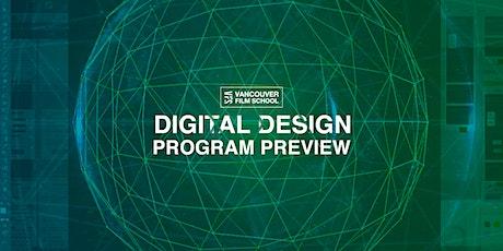VFS Digital Design Program Preview tickets