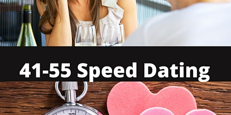 41- 55 Speed Dating tickets
