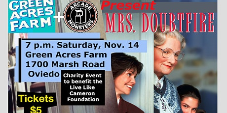 Outdoor Movie At The Farm: Mrs. Doubtfire tickets