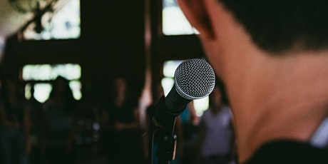 The Keys to Public Speaking and Performance: Physicality and Concept tickets