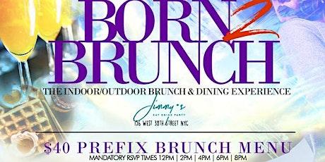 Sun Oct 25th Born2Brunch @ Jimmy's  // Bdays Fr33 Champagne tickets