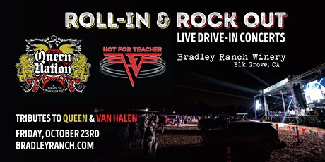 Roll-In and Rock Out - Tributes to Queen and Van Halen at Bradley Ranch tickets