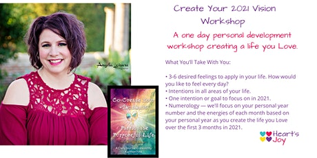 Create Your 2021 Vision Workshop tickets