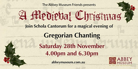 A Medieval Christmas: A Gregorian Chanting Recital tickets