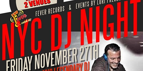 NYC DJ NIGHT tickets