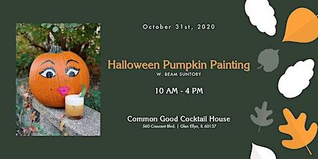 Halloween Pumpkin Painting w. Beam Suntory tickets