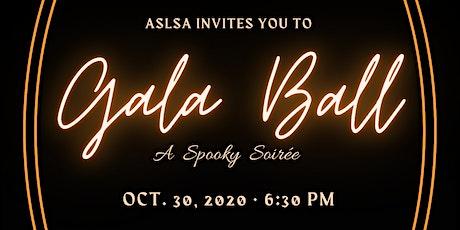 ASLSA Gala Ball 2020 - A Spooky Soirée tickets