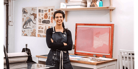 Woods Street Youth Art Prize 2020: Printmaking Workshop with Georgia Steele tickets