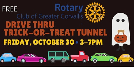 Rotary's  Drive Thru Trick-or-Treat Tunnel tickets