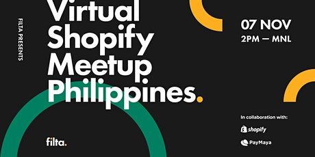 Virtual Shopify Philippines Meetup: Power Your Online Store tickets