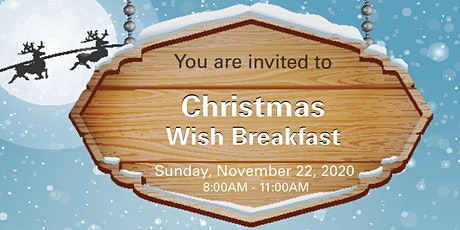 Christmas Wish Breakfast Red Deer 2020 tickets