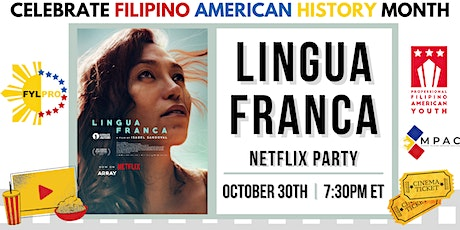 Lingua Franca  - FYLPRO Netflix Party tickets