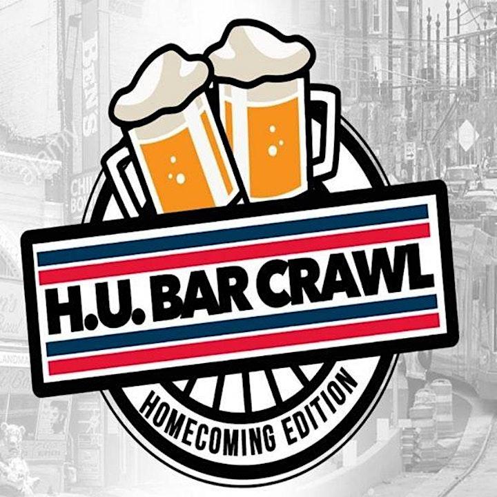 4th Annual HU Bar Crawl (Howard Homecoming) image
