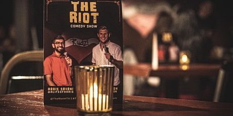 The Riot Comedy Show with Headliner Canice Nnanna [Early Show] tickets