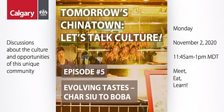 Tomorrow's Chinatown: Let's Talk Culture! #5