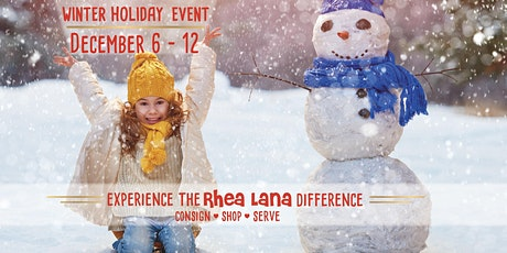 Rhea Lana's of Madison-Ridgeland Holiday Sale tickets