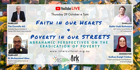 WEBINAR: Faith in our Hearts  &  Poverty in our Streets tickets