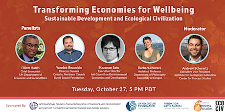 EcoCiv Dialogue: Transforming Economies for Wellbeing tickets