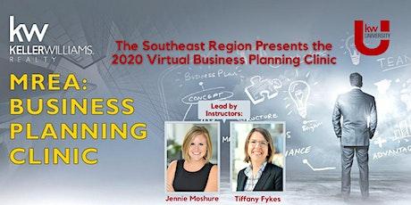 KW SE Regional Business Planning Clinic -  Jennie Moshure & Tiffany Fykes tickets