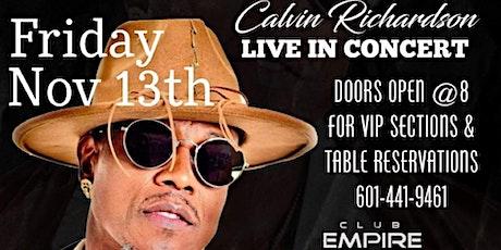 "Calvin Richardson ""All Black Affair"" tickets"
