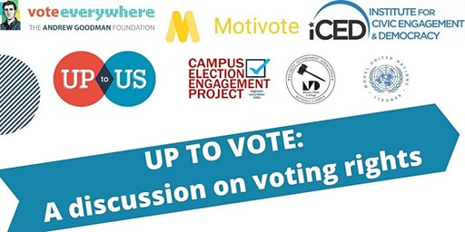 Up to Vote: A Discussion on Voting Rights